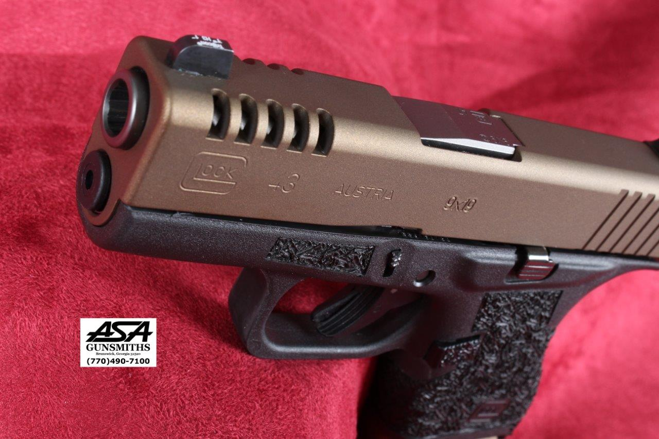 G43 Custom Carry Burnt Bronze